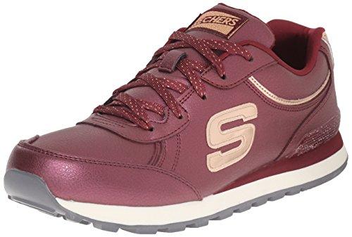 Skechers OG 82Shimmers, Scarpe da Ginnastica Donna, Rosso (Rot (Burg)), 38 EU
