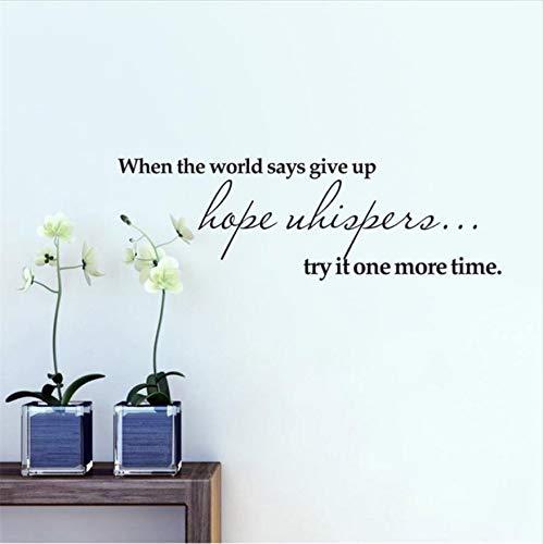 Wandaufkleber Spiegel Versuchen Sie Es Einmal Mehr Inspirierend Zitat Wohnkultur Wandaufkleber Abnehmbare Vinyltapete Kinderzimmer Dekor