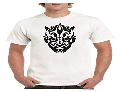 Camisetas divertidas Child Darth Maul - para Hombre Camisetas Talla Small Color Negro