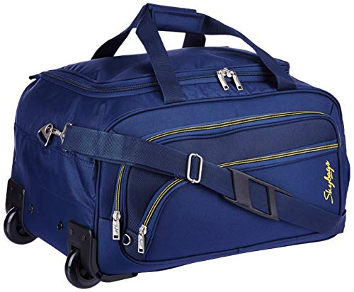 Skybags Scot Plus Polyester 64 cms Blue Travel Duffle (DFTSPE64BLU) Image 4