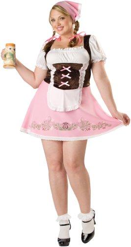 Abholen Ic15010xxxl Fraulein Kleid Größe 50-52, 3 Stück