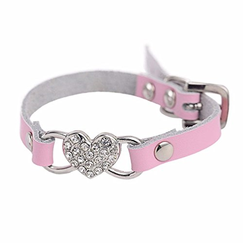 collier-chien-rglable-coeur-strass-peach-pu-cuir-collier-pet-puppy-dog-collier-xxs-10cm25cm-rose