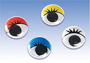 Gütermann / KnorrPrandell 2479184 - Moviendo los Ojos Color de 10 mm, 30 Piezas / Bolsa Importado de Alemania