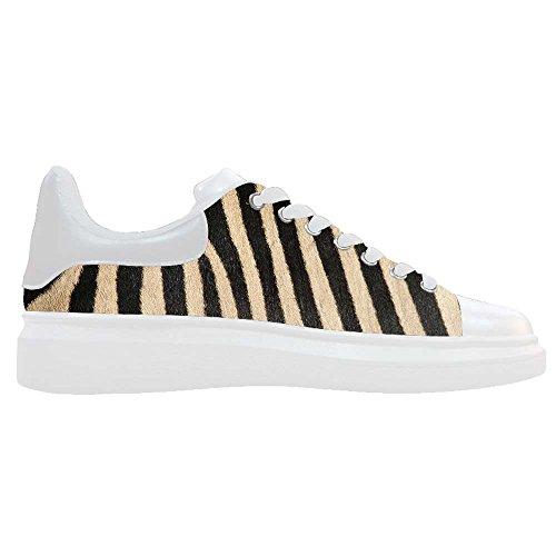 Dalliy zebra stripe Men's Canvas shoes Schuhe Footwear Sneakers shoes Schuhe A
