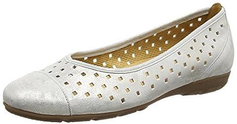 Gabor Shoes 44.169 Damen Ballerinas, Beige (61 puder), 38 EU