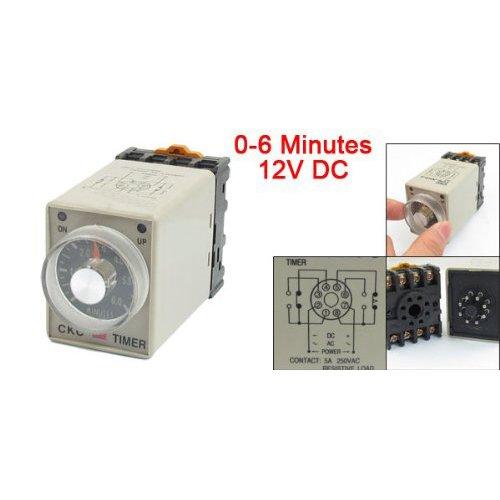 rele-di-tempo-toogoor-0-6-minuti-8-pin-custodia-in-plastica-delay-timer-tempo-relay-dc-12v-ah3-3-con