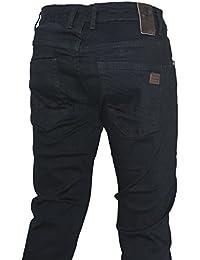 D-Skins pantalon homme noir coton slim carrot - DK-8360