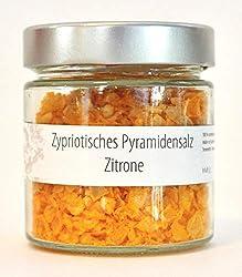 Zypriotisches Pyramidensalz Zitrone