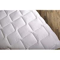 Wendre Premium Bettdecke Flauschige, Weiche & Warme Decke | Ideal für Allergiker | Waschmaschinenfest | Mikrofaser Bezug | 220x240 - XXL King Size | Weiß