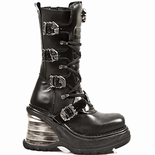 New Rock M.8374-S1 BLACK, BLACK