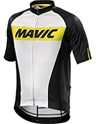 Mavic - Cosmic Jersey, color blanco,negro, talla L