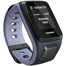 TomTom Runner2 - Reloj deportivo con música, color morado / azul, S