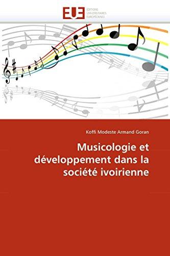 Musicologie et développement dans la société ivoirienne