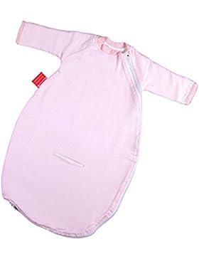 Hoppediz Baby-Schlafsack mit Gurtschlitz für Auto-Kindersitze und praktischem Umschlagbündchen