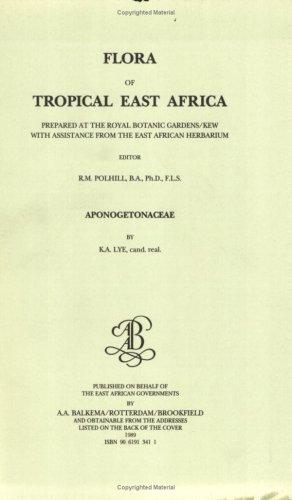 Flora of Tropical East Africa - Aponogetonac (1989 )