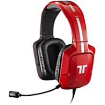 Tritton - Auriculares Pro+ 5.1 Surround, Color Rojo (PS4, PS3, Xbox 360, PC, Mac)