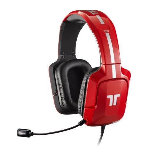 Tritton PRO+ 5.1 Surround Headset für PS4/PS3, Xbox 360, PC/Mac - Rot