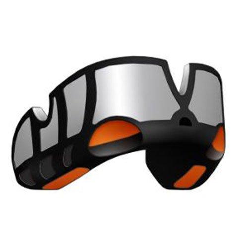 OPRO Platinum Zahnschutz - Black/Silver/Orange