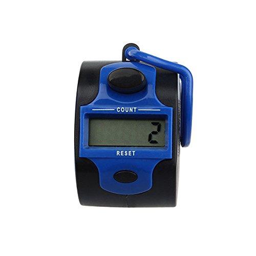 Zähler , Colorful (TM) Handzählgerät, Handzähler ,5-stellige Handzähler (Blau)