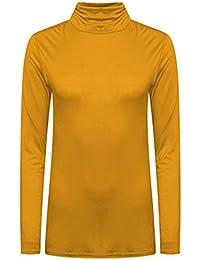 54 Amazon Mujer Camisetas Amarillas Ropa ExqqFva