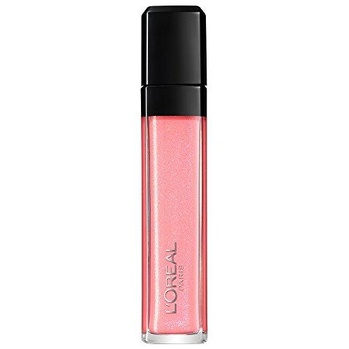 L'Oréal Paris Lippen Make-up Infaillible Le Gloss Dazzle, 206 for the ladies / Lipgloss für volle und gepflegte Lippen - bis zu 5h, 1er Pack - 8 Ml Farbe Glänzend