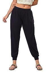 Frenchtrendz Womens Navy Harem pants (XX-Large)