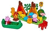 BIG 800057143 Big-Bloxx Peppa Pig Camping Set de Pig Vert...