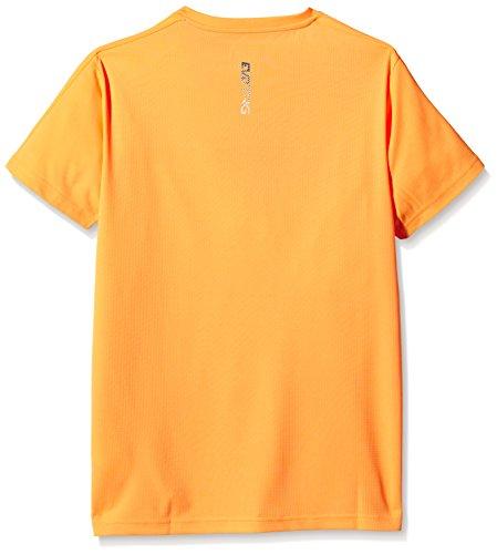 Puma Evotrg T-shirt d'entraînement pour enfant Orange - Orange Pop-Blue Wing Teal