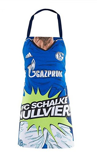 FC Schalke 04 Grillschürze / Kochschürze NULLVIER