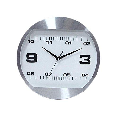 Personnalité Horloge Murale - 12 Pouces Salon Circulaire Montre de Poche Simple Moderne Famille Silencieuse À Quartz , Blue