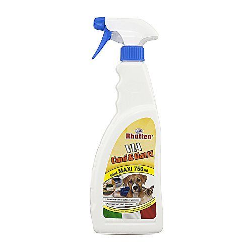 Rhutten 280622 spray via cani e gatti repellente, 750 ml