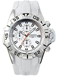 Immersion IM6954 - Reloj unisex de cuarzo color blanco