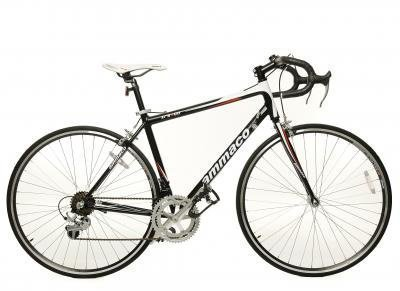 AMMACO XRS600 ALLOY MENS RACING ROAD BIKE 55cm FRAME 14 SPEED BLACKWHITE (PICTURE SHOWS SMALLER FRAME SIZE) by AMMACO