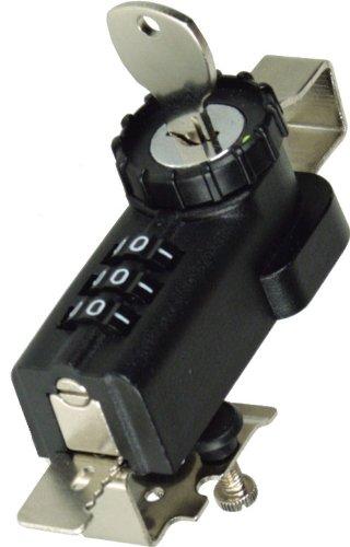 combi-ratchet 7861h Koffergurt aufklappbaren Kombination Ratsche Schloss mit Schlüssel Umgehungsschalter für Glas Vitrine -