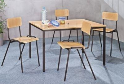 Table-polyvalente-h-x-l-720-x-800-mm-longueur-1200-mm-plateau-gris-clair-pitement-gris-basalte-table-table-de-cantine-table-de-runion-table-polyvalente-tables-tables-de-cantine-tables-de-runion-tables