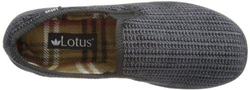 Lotus Bevis 7114, Chaussons homme Noir - V.2