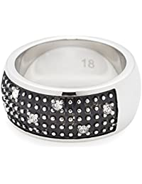 Leonardo Jewels Damen-Ring Stelletta Edelstahl Glas
