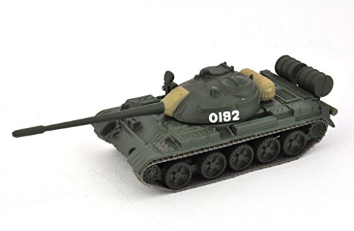 Unbekannt Panzer T-55 Russischer Militär Panzer Maßstab 1/72 Soviet Army -réf: E12