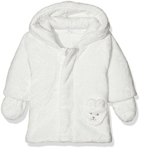 Baby Mantel Elfenbein (Absorba Boutique Unisex Baby Mantel 9I44011, Elfenbein (Ecru 11), 62 (Herstellergröße: 3M))