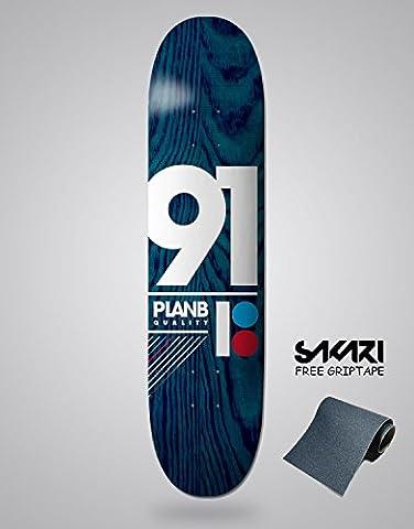 Monopatín skate skateboard PLAN B TEAM 91 8,75