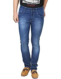 Trendy Trotters Men's Regular Blue Slim Fit Jeans For Men And Boys