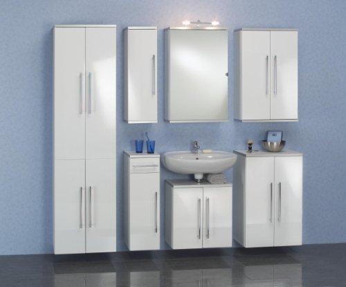 Waschbeckenunterschrank San Remo, 50 cm, Kesper, weiß - 2