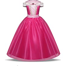 8df68141c84a Costume Bambine Vestito Principessa Aurora da Ragazze 3-10 Anni