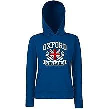 T-Shirtshock - Sudadera hoodie para las mujeras TSTEM0118 oxford england