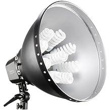 Walimex Pro Daylight Set 1260 (9x28 W Daylight, Reflektor 47 cm)
