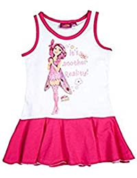 MIA AND ME robe 4ans 5ans 6ans 8ans rose et blanche