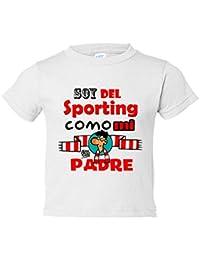 Camiseta niño soy del Sporting de Gijón como ...