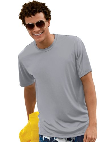 hanes-t-shirt-uomo-grigio-grafite-us-small