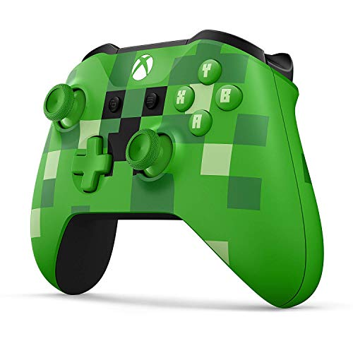 RQINW Xbox One Wireless Controller - Minecraft Creeper