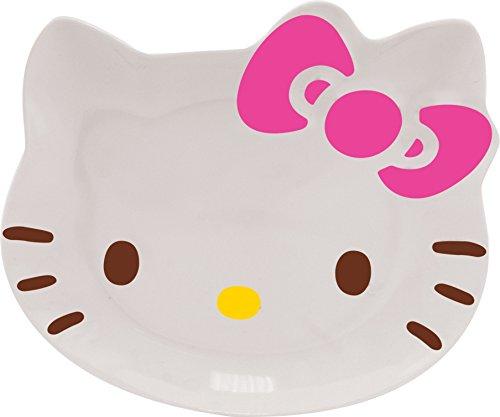 Marca Ciao Kitty dell'arco 8010237 set di 6 piatti di melamina bianco 23 x 20 x 1,5 cm - 1.5 Case